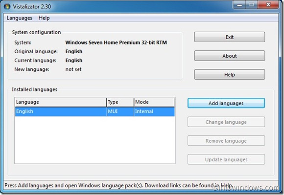 Download Vistalizator For Windows 7