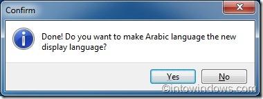 install language pack in Windows 7 Home Premium version