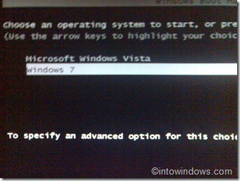 set windows 7 as default operating system