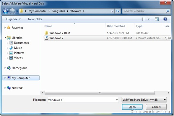 Convert VMDK to VHD format in windows