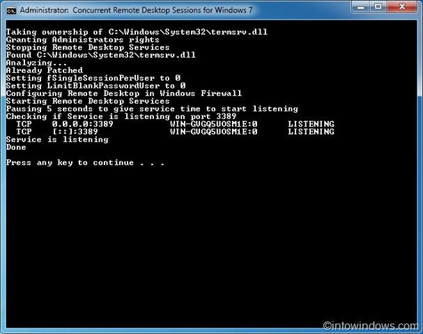 Install Remote Desktop Connection Windows  Home Premium