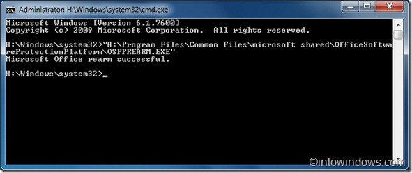 How To Extend Office 2010 Trial Version