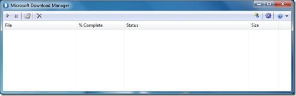 Microsoft Download Manager for Windows 7