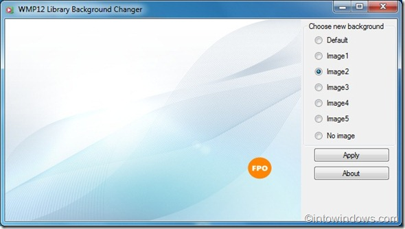 WMP12 Library Background Changer1