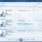 Enable Windows Media Player 12 Hidden Library Backgrounds