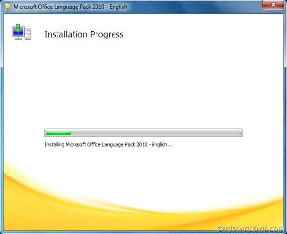 how to install windows 10 language pack