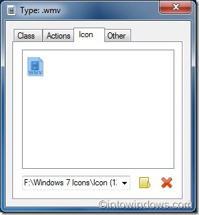 change file type icon in windows 7 with types tool