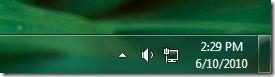 hide system tray in windows 7
