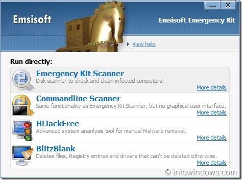 Emergency Kit for Windows