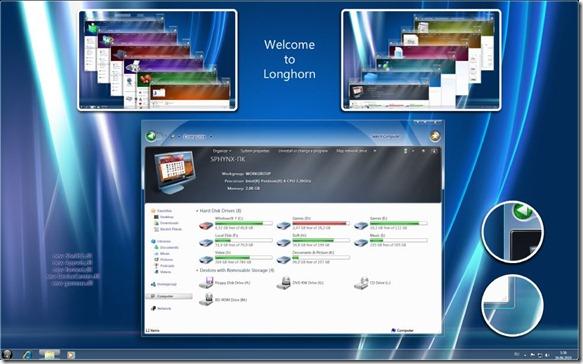 Multicolor Theme for Windows 7