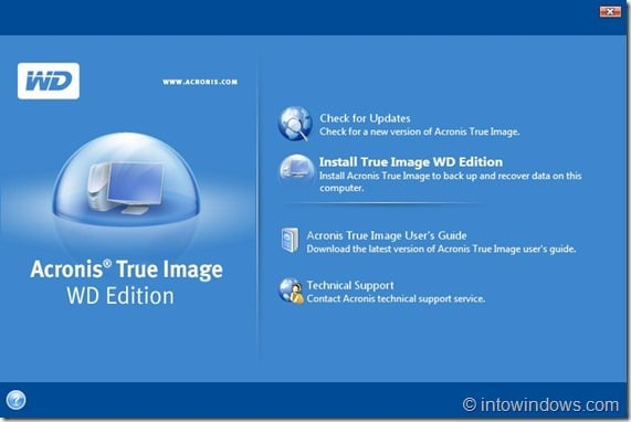 Acronis True Image WD Edition new