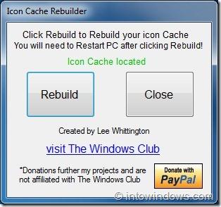 Icon Cache Rebuilder