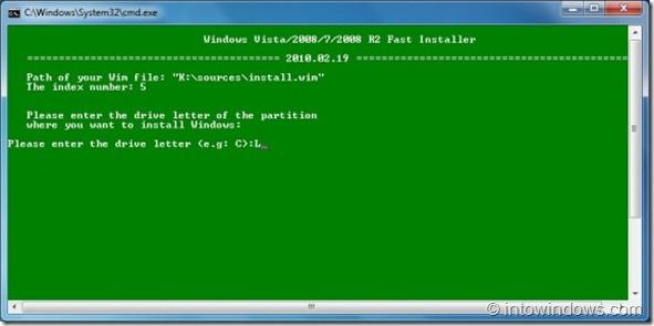 Install Windows 7 to an USB external hard drive3