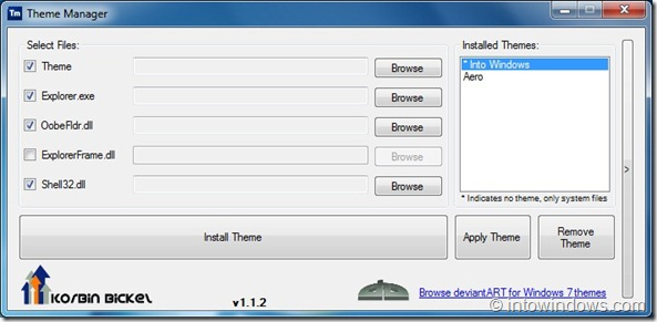 Theme Manager For Windows 7