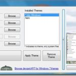 Theme Manager: Install, Manage And Remove Windows 7 Visual Styles From One Place