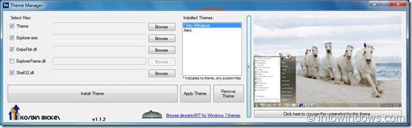 Theme Manager for Windows 7 RTM