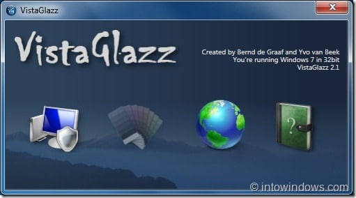 Vista Glazz for Windows 7