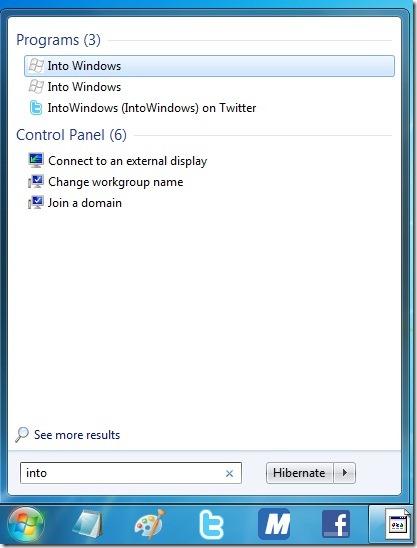 Add a website to Start menu Using Internet Explorer 9 browser