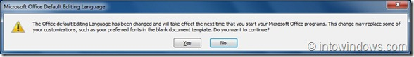 How To Enable Language Interface Packs In Office 2010 step2