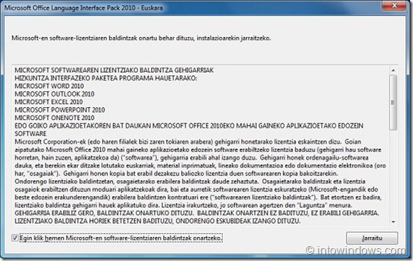 How To Install and Enable Language Interface Pack In Office 2010