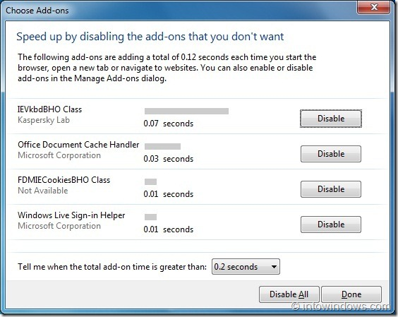 How To Speedup Internet Explorer 9 Browser In Windows 7