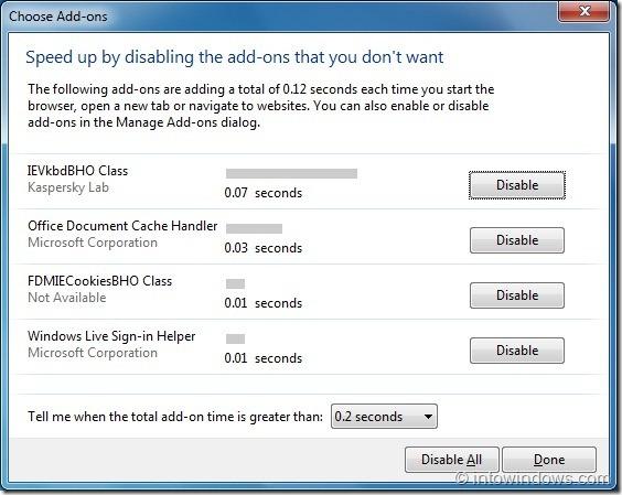 How To Speedup Internet Explorer 9 Browser In Windows 7
