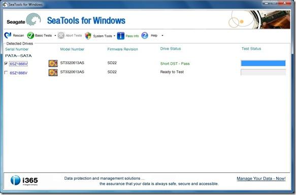 Seagate SeaTools For Windows