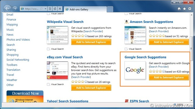 How To Set Google As Default Search Engine In Internet