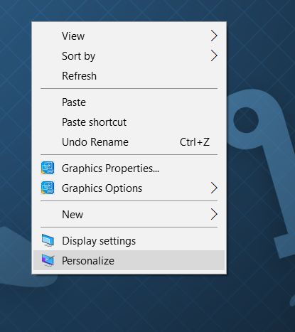 Remove Recycle Bin icon from Windows 10 desktop step1