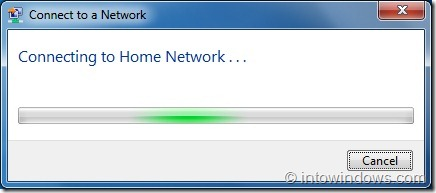 how to connect network pc in windows 7