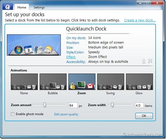 ObjectDock2.0ForWindows thumb - Download: barra de ícones Object Dock para PCs