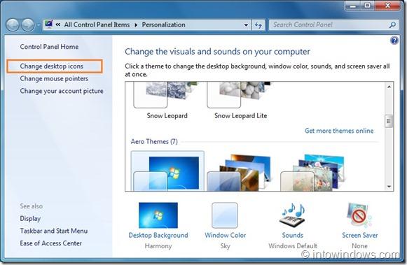 Remove Recycle Bin From Windows Desktop
