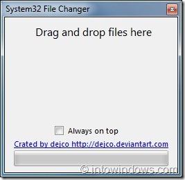System32 File Changer For Windows 7