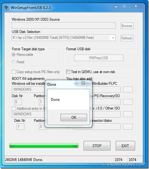 Create Multiboot USB Flash Drive With Windows 7 and XP Step 10A