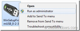 Create Multiboot USB Flash Drive With Windows 7 and XP Step 2