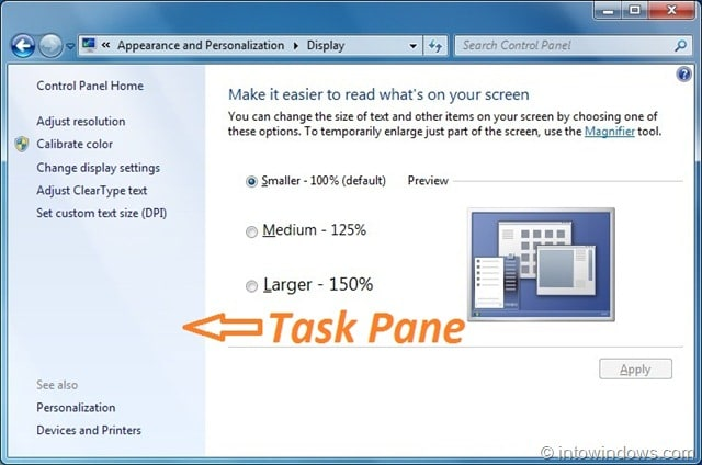 Replace Windows 7 Task Pane Background With Windows 7 Task