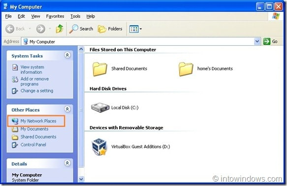 How To Share Folders Between VirtualBox And Windows Host ...
