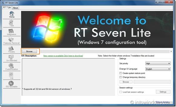 Slipstream Windows 7 SP1 Into Windows 7 Installation DVD Step1