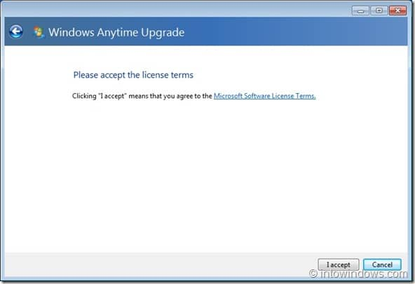 Upgrade Windows 7 Home Premium To Professional Edition step5