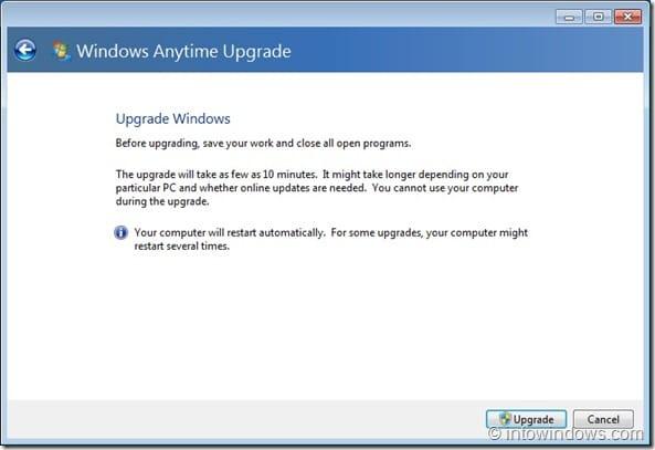 Upgrade Windows 7 Home Premium To Professional Edition step6