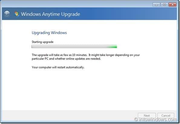 Upgrade Windows 7 Home Premium To Professional Edition step7