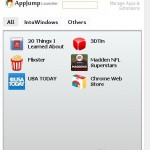 AppJump Launcher: Easily Organize & Launch Google Chrome Browser Web Apps