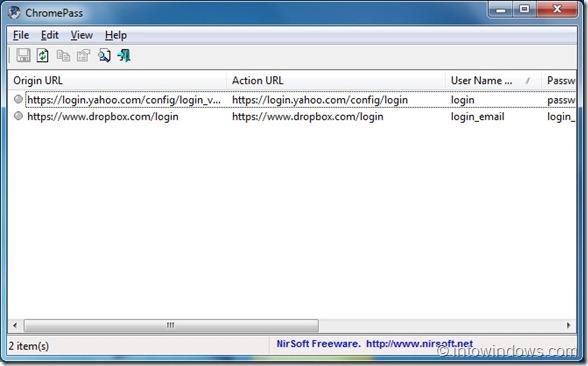 Backup Or Export Google Chrome Passwords