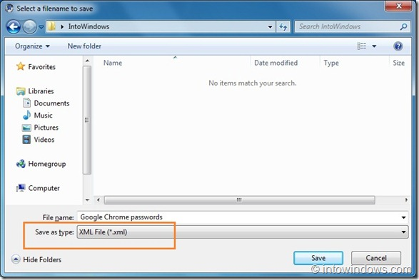 How To Backup Or Export Google Chrome Passwords
