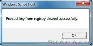 How To Remove Windows Product Key From Registry Step