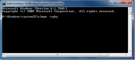 How To Remove Windows Product Key From Registry