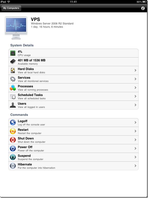 PC Monitor on iPad
