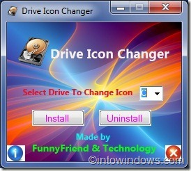 Drive Icon Changer for Windows7