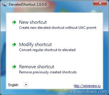 how to delete shortcut without administrator priveledges