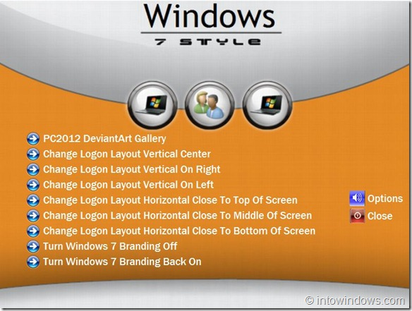 Final Version Win7 Logon Layout